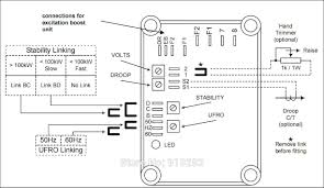 stamford alternator wiring diagram manual stamford wiring