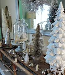 Winter White Christmas Decorations by Winter White Home Ideas What Meegan Makes