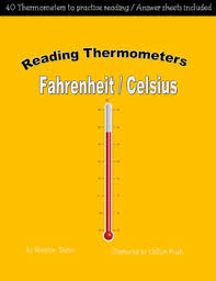 reading thermometers fahrenheit celsius by marilyn more tpt