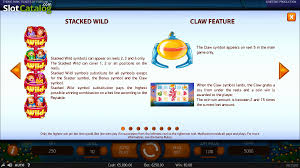 theme line yellow claw review of theme park tickets of fortune video slot from netent
