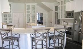 granite countertop kitchen gray walls white cabinets ge profile
