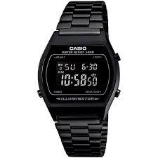 mens bracelet digital images Casio men 39 s digital vintage black stainless steel bracelet watch jpg