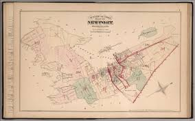 Blank Map Of Rhode Island by Outline And Index Map Of Newport Rhode Island David Rumsey