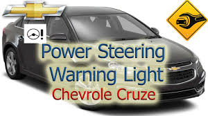 power steering warning light chevrolet cruze youtube