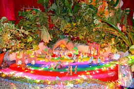 Temple Decoration Ideas For Home Decoration Of Temple In Home Golu At Home In Delhi With