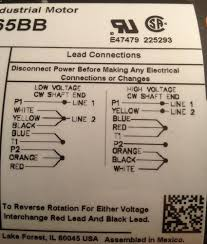 help electric motor wiring