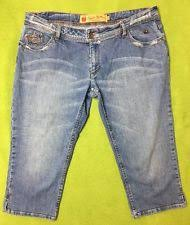 apple bottoms denim capri cropped jeans for women ebay