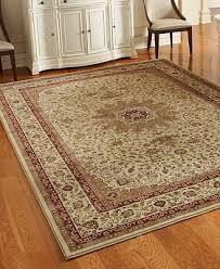 Couristan Area Rugs Closeout Couristan Area Rugs Tamena Tam103 Kashan Ivory Rugs