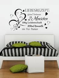 sprüche schlafzimmer für jedes pärchen geeignet wandtattoo valentinstag