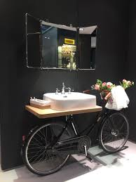 bathroom with personality recycle an old bike motorcycle shop
