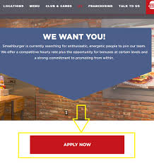 how to apply for smashburger jobs online at smashburger com careers