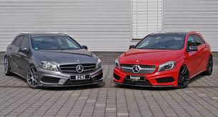 grey mercedes a class inden design and binz present light tune for mercedes a class hatch