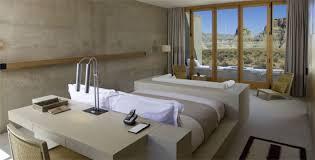 chambre hotel luxe moderne amangiri utah les plus beaux hôtels du monde