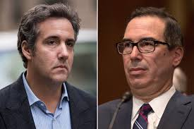 Kinky Katie Meme - steve mnuchin says michael cohen s financial records are missing