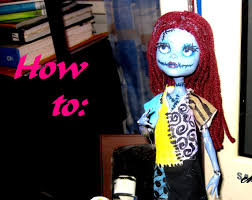 how to high sally doll repaint inspired by tim burton s