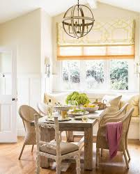cottage dining room with window seat banquette cottage dining room