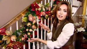 Banister Christmas Garland How To Decorate For Christmas With Garland Tip From Lisa