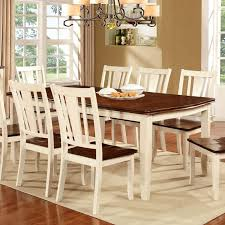 dover white u0026 cherry finish dining table set u2013 24 7 shop at home
