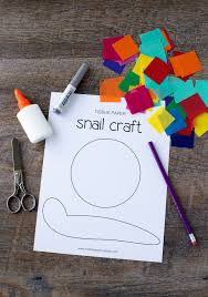 paper snail craft