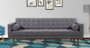 corrigan studio nietos mid century modern sofa u0026 reviews wayfair