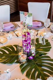 Tropical Wedding Table Decorations Reception Decoration Ideas 2018
