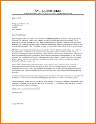 7 marketing cover letters quit job letter
