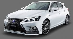 lexus ct200h premier dub magazine trd gives lexus ct 200h a facelift