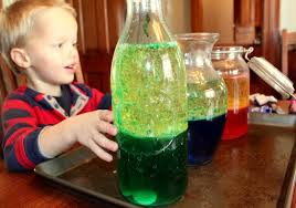 make a lava lamp science experiment hands on as we grow