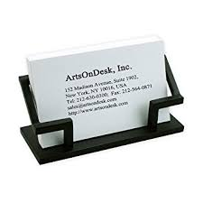 Business Card Holder Amazon Amazon Com Artsondesk Modern Art Business Card Holder Bk301