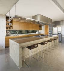 rustic contemporary kitchen dining table glass windows on wooden