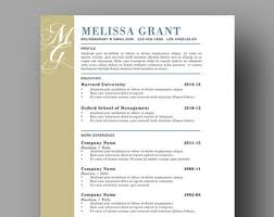 elegant resume template for word 1 3 page resume cover