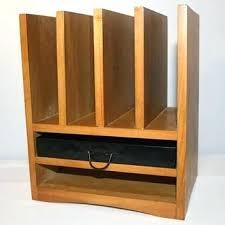 Vintage Desk Organizer Vintage Desk Organizer Vintage Desk Organizer Wooden Wood Desktop