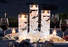 Vases With Floating Candles Amazon Com 3 Glass Cylinder Vase Party Centerpiece Elegant