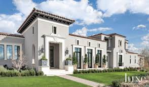 formal mediterranean with stucco facade luxesource luxe