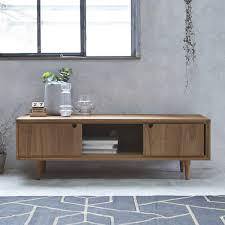 meubles en teck massif meuble tv teck pas cher meubles télé teck massif tikamoon