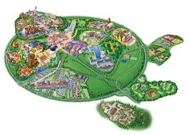 Walt Disney World Maps by Map Of Disneyland Paris And Walt Disney Studios
