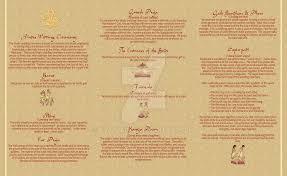 hindu wedding program wedding program part 2 hindu by thatladyj on deviantart