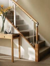 L Shaped Stairs Design Lovable Wood Glass Stairs Design Related To Interior Decorating