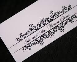 classic wedding place cards too chic u0026 little shab design studio