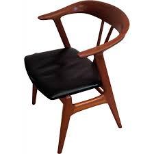 bureau teck massif chaise de bureau en teck massif scandinave éditeur nesjestranda