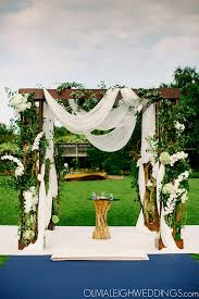 wedding arches chicago wedding aisle style