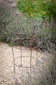 garden plant support handmade antique style rusty metal decorative