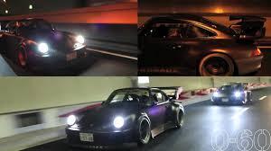 rauh welt porsche 911 0 60 porsche 911 rauh welt in tokyo youtube