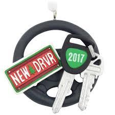 new driver steering wheel 2017 hallmark ornament gift ornaments