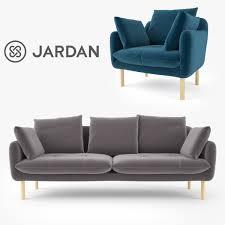 Jardan Wilfred Sofa Jardan 3d Models And Textures Turbosquid Com