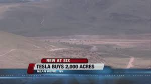 tesla factory tesla purchases 2 000 more acres for northern nevada factory youtube