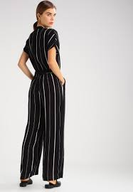 selected femme selected femme sfluane jumpsuit black women clothing trousers