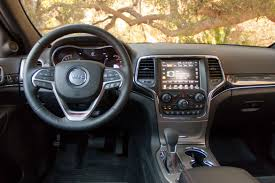 jeep cherokee chief interior 2017 jeep grand cherokee our review cars com