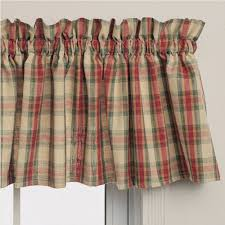 straight valances country style curtains