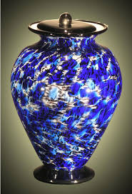 small cremation urns amato glass small cremation urn